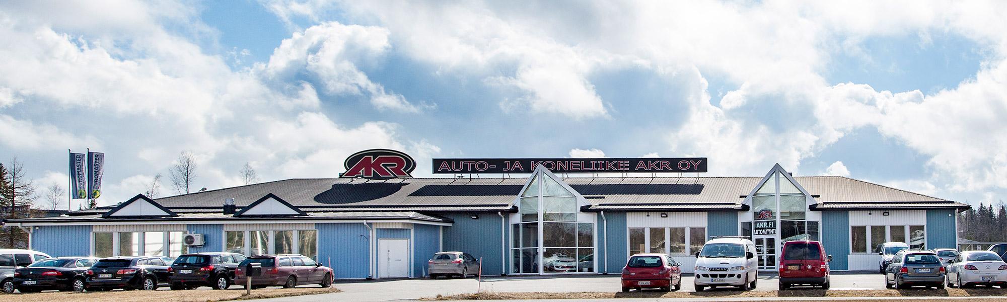 Autokauppa Loimaalla ja Forssassa | Auto- ja koneliike AKR