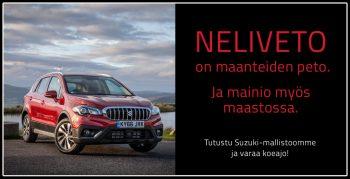 Auto- ja koneliike AKR - Suzuki myynti Suomessa